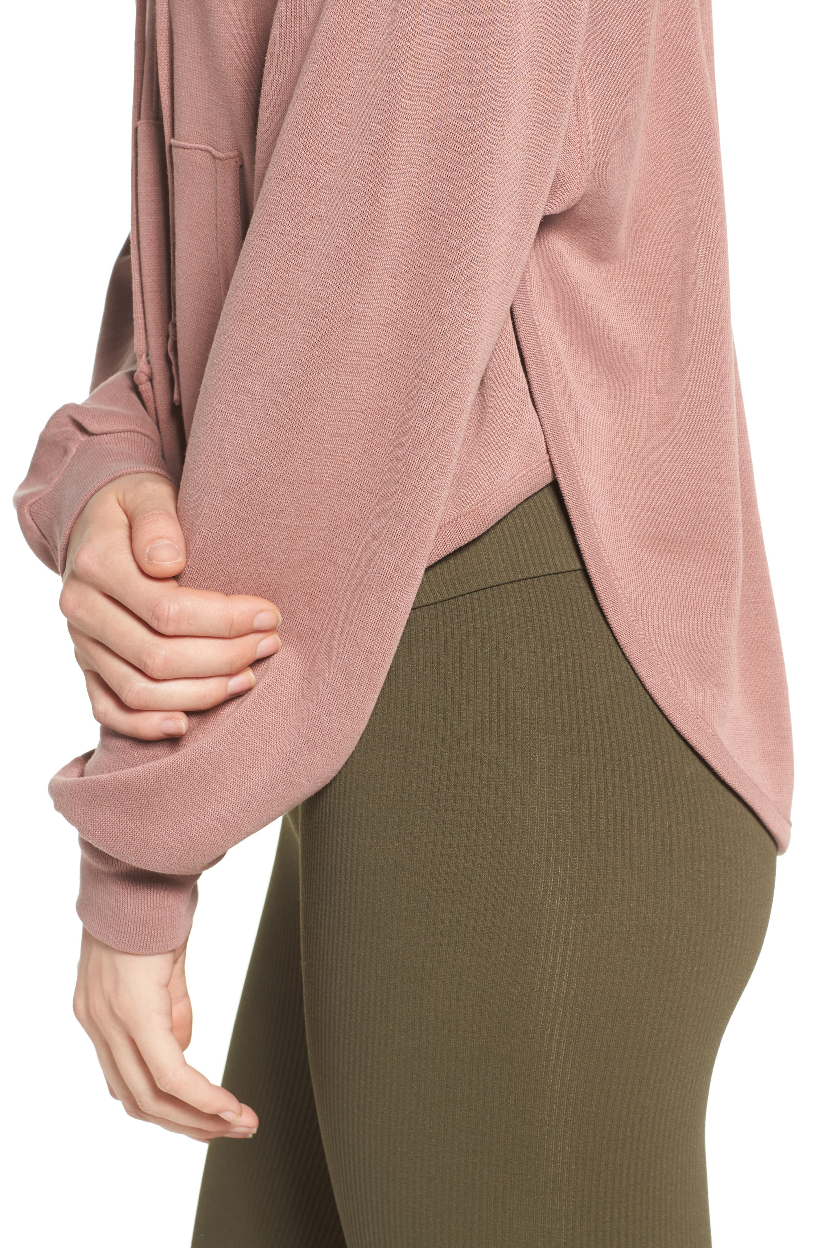 ,                             Back Into It Cutout Hoodie,                             Alternate thumbnail 32, color,                             650