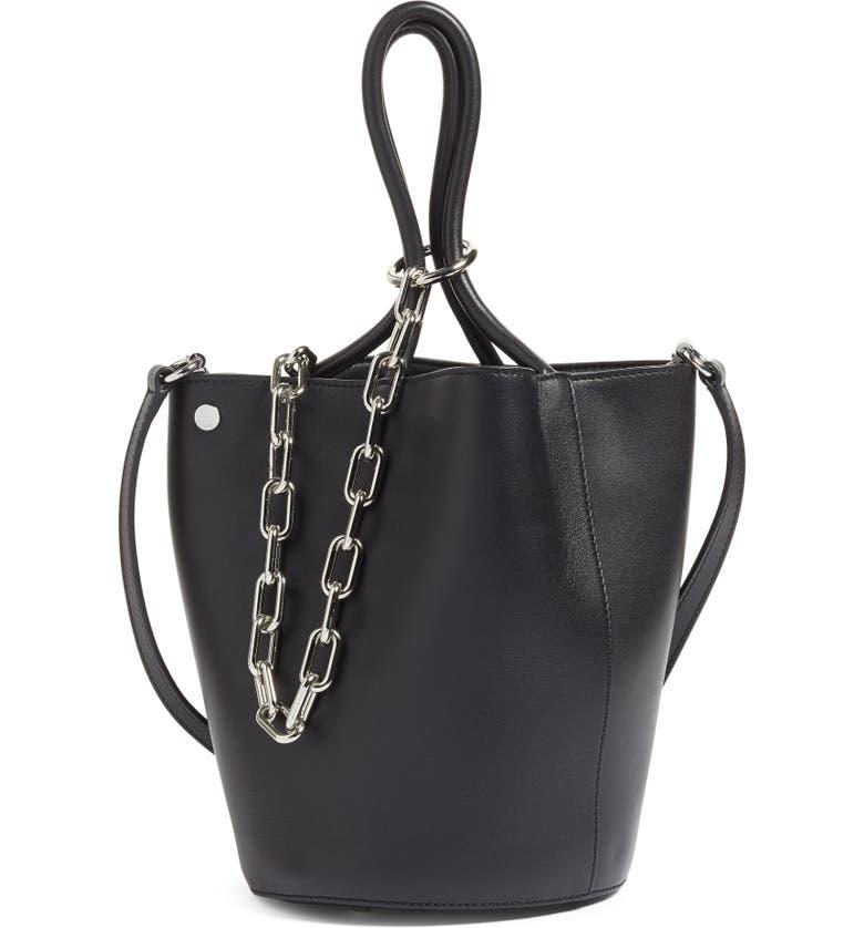 Alexander Roxy Leather Bucket Bag