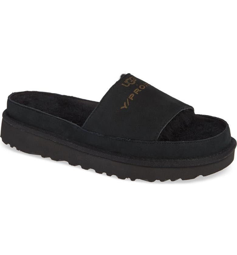 542f8bebe45 Y/Project x UGG® Genuine Shearling Slide Sandal (Women) | Nordstrom