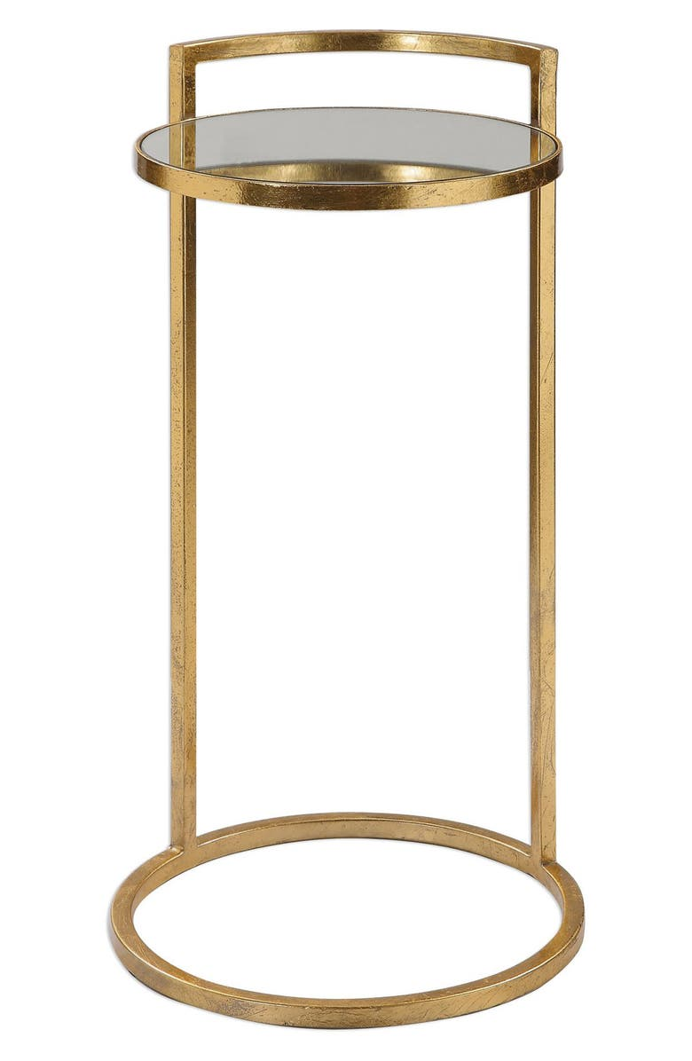 UTTERMOST Cailin Accent Table, Main, color, GOLD