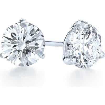 Kwiat 2.10Ct Tw Diamond & Platinum Stud Earrings