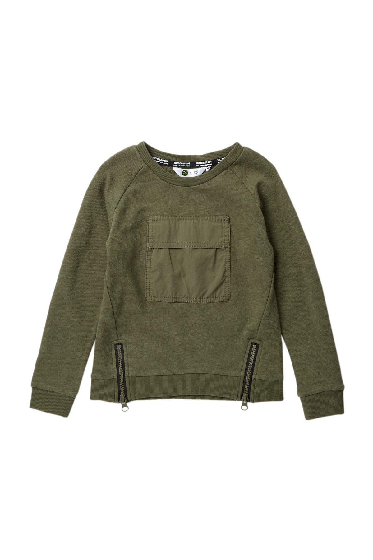 Image of Petit Lem Zip Sweatshirt