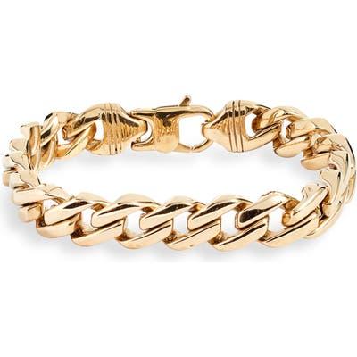 Knotty Curb Chain Bracelet