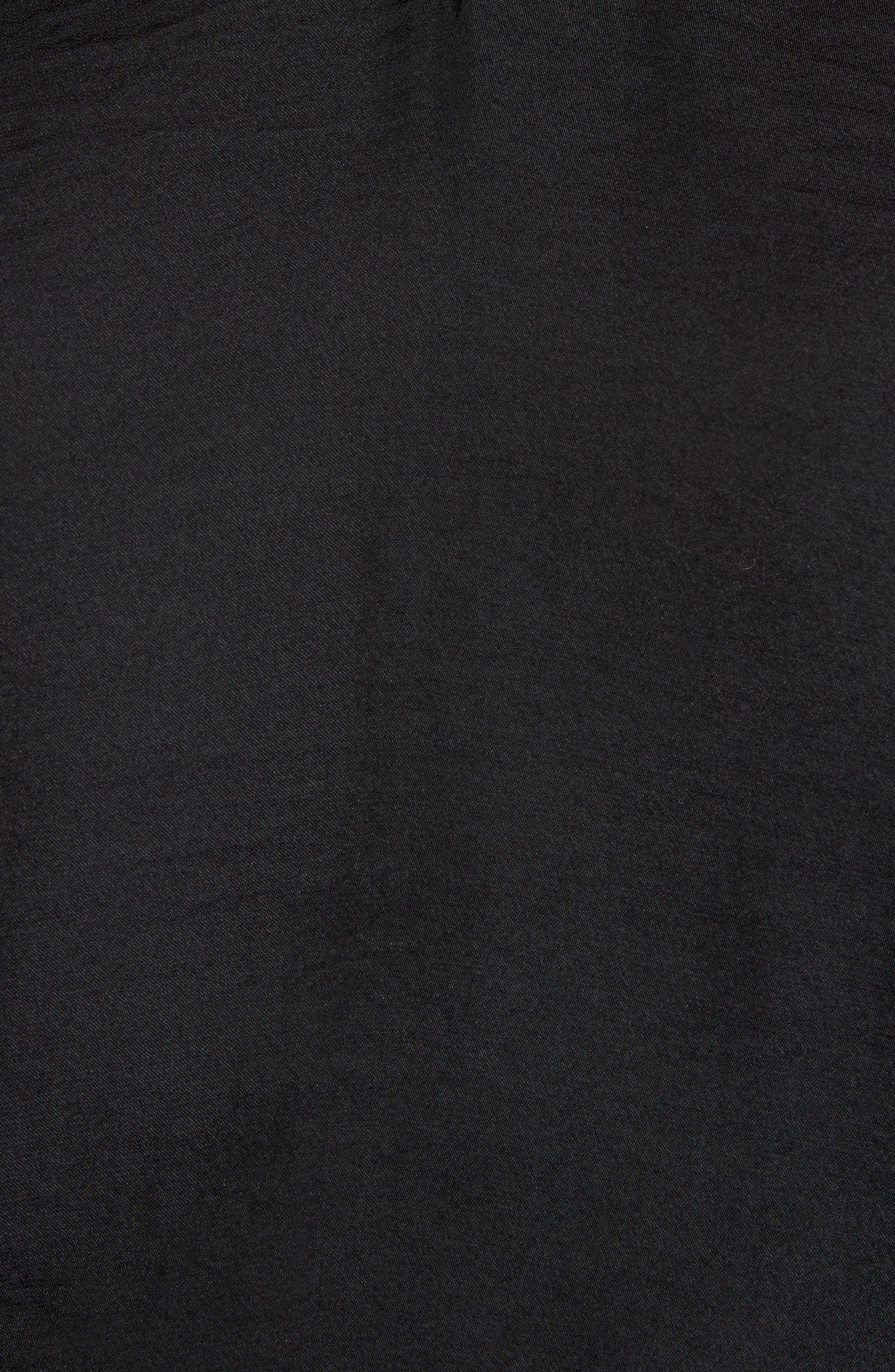 ,                             Chiffon Inset Camisole,                             Alternate thumbnail 4, color,                             RICH BLACK