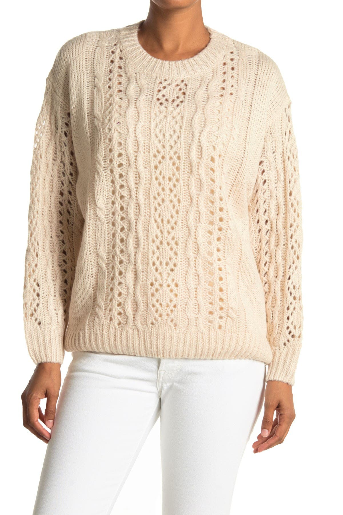 Image of Lush Open Knit Sweater