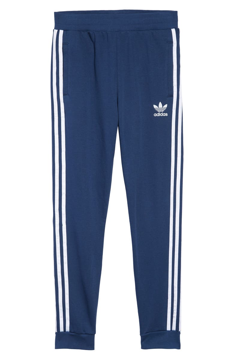ADIDAS ORIGINALS Trefoil Track Pants, Main, color, 400