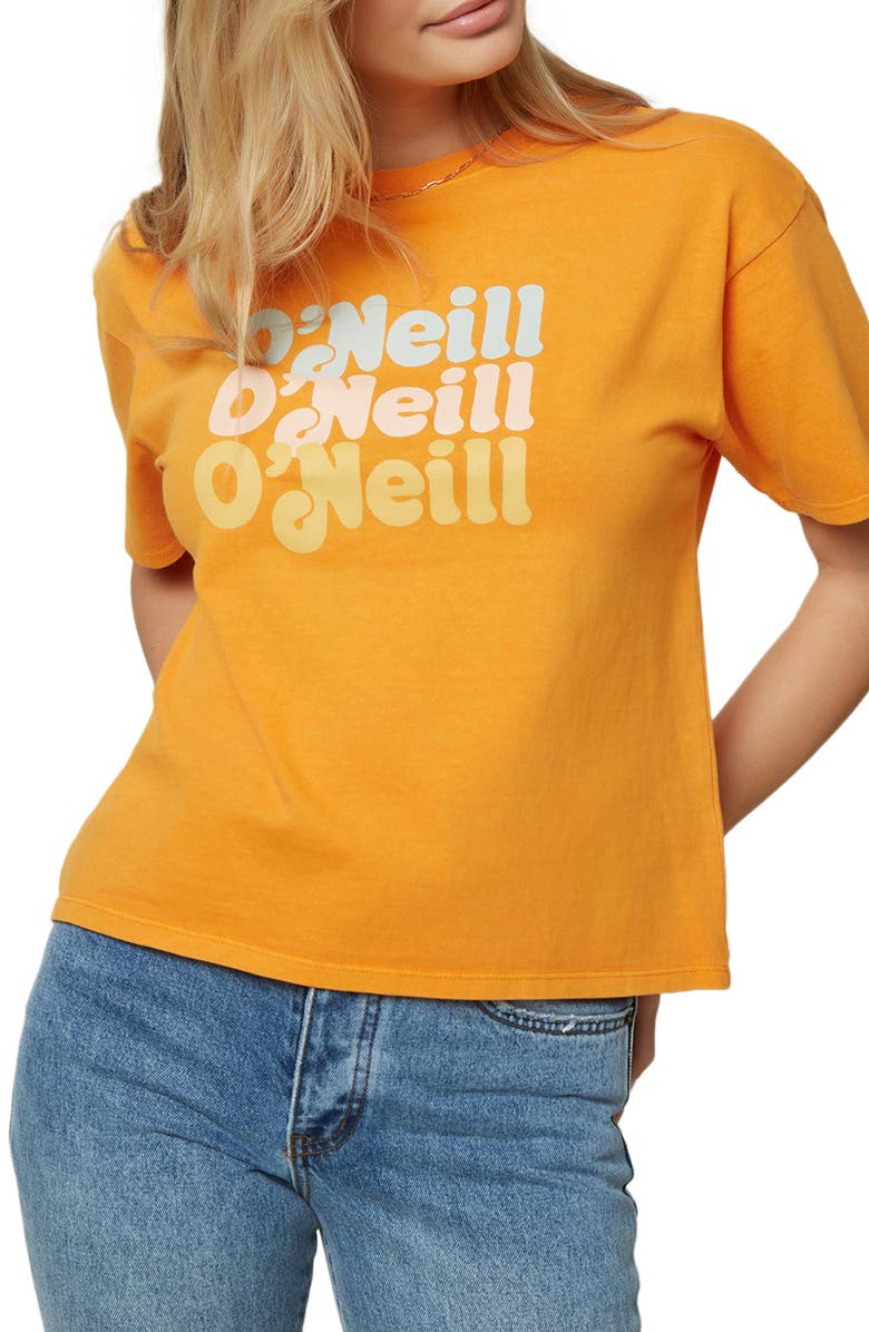 O'NEILL Throwback Tee, Main, color, 700
