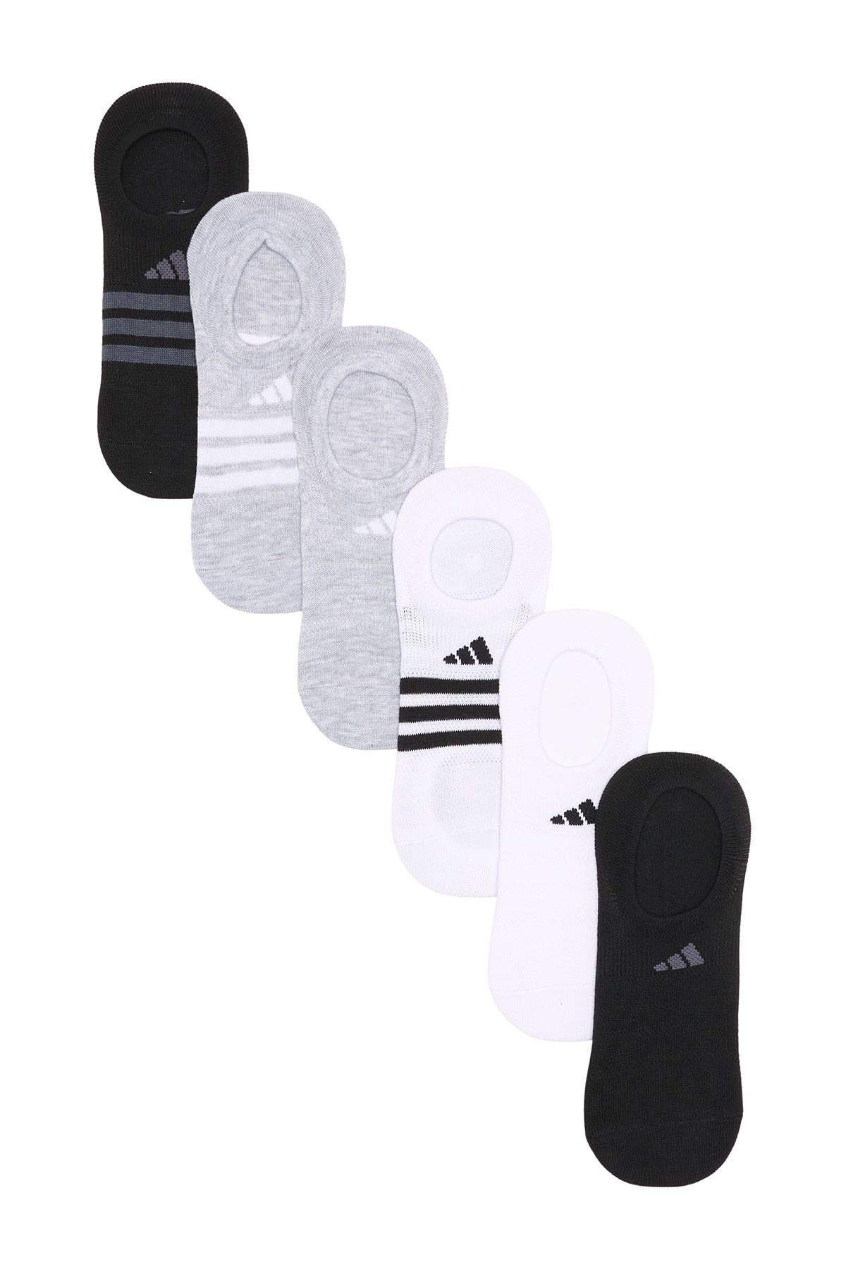 Image of adidas No Show Socks - Pack of 6
