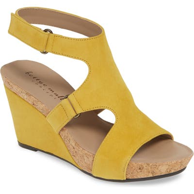 Bettye Muller Concepts Tobias Sandal, Yellow