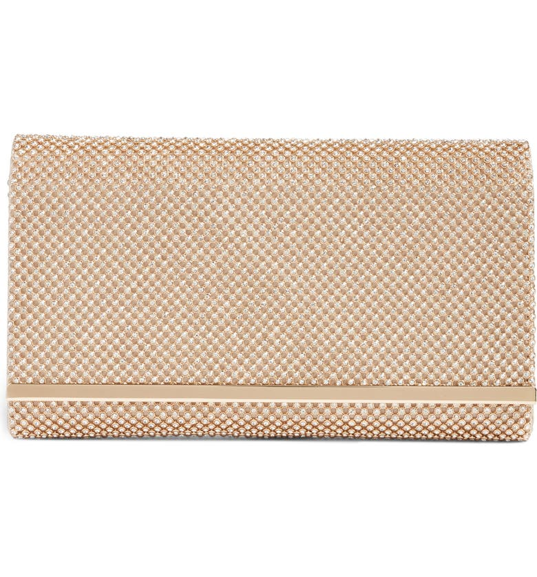 NORDSTROM Crystal Mesh Bar Clutch, Main, color, 710