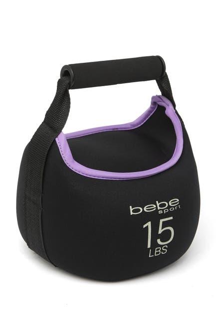 Image of bebe 15lbs Neoprene Kettle Ball