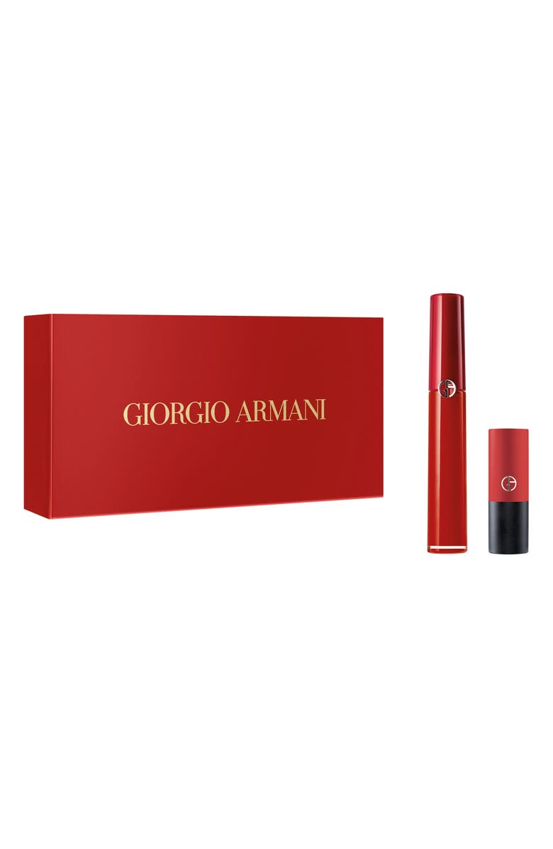 GIORGIO ARMANI Lip Maestro & Rouge D'Armani Matte Set, Main, color, 000