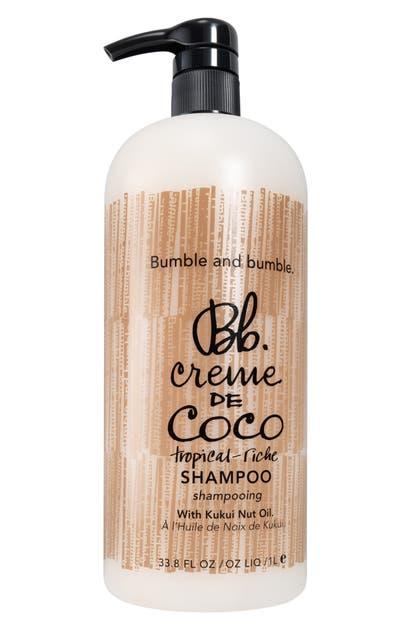 Bumble And Bumble Creme De Coco Shampoo 33.8 oz/ 1 L