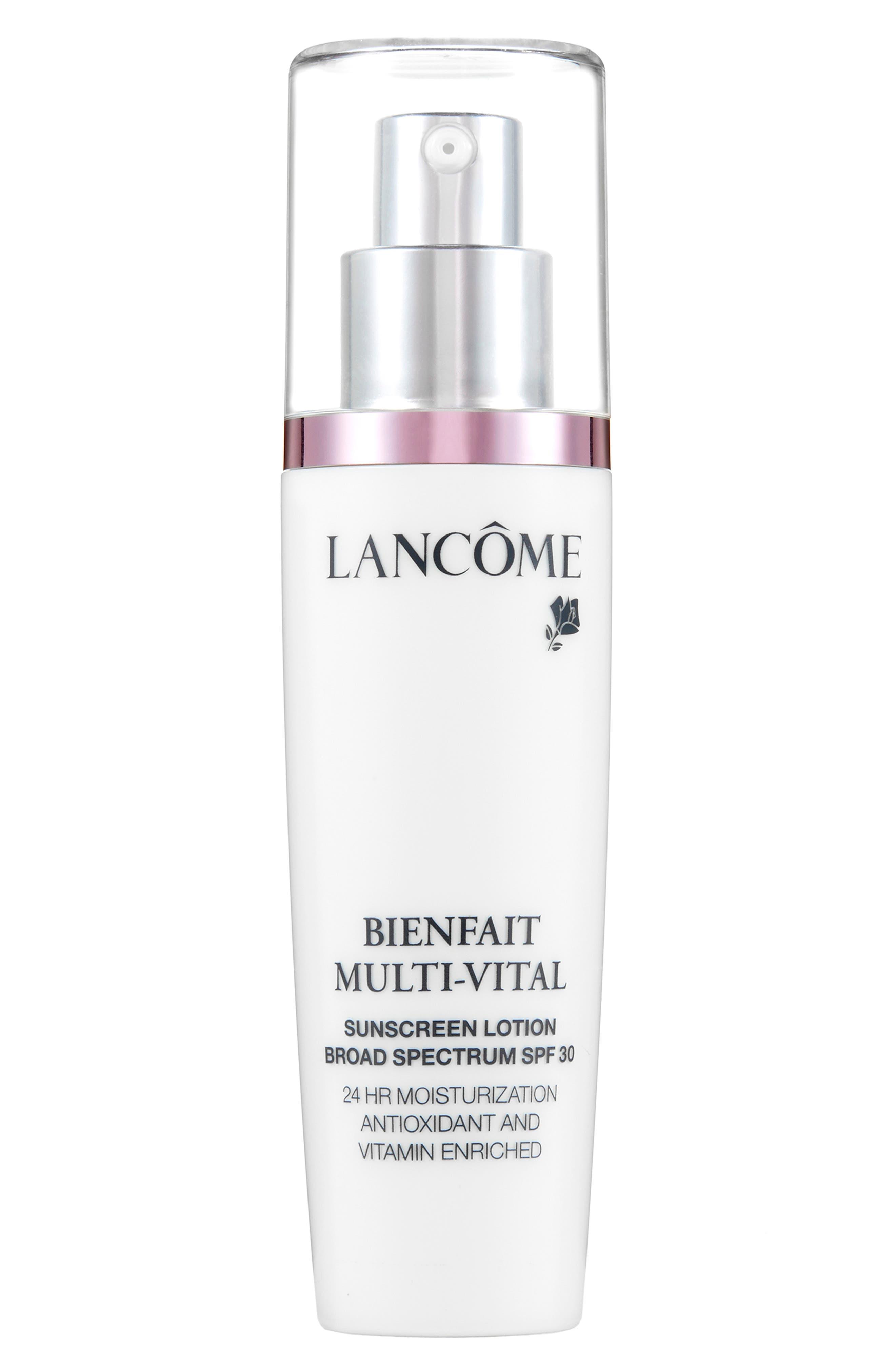Lancome Bienfait Multi-Vital Sunscreen Lotion Broad Spectrum Spf 30