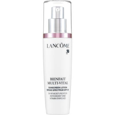 Lancome Bienfait Multi-Vital Sunscreen Lotion Broad Spectrum Spf 30