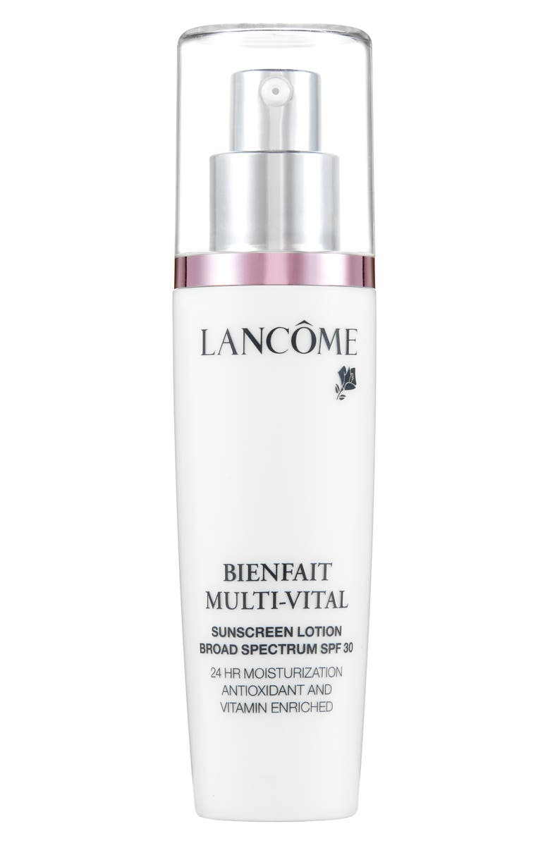 LANCÔME Bienfait Multi-Vital SPF 30 Day Cream Moisturizer, Main, color, 960