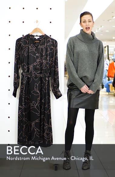 Alowette Silk Shirtdress, sales video thumbnail