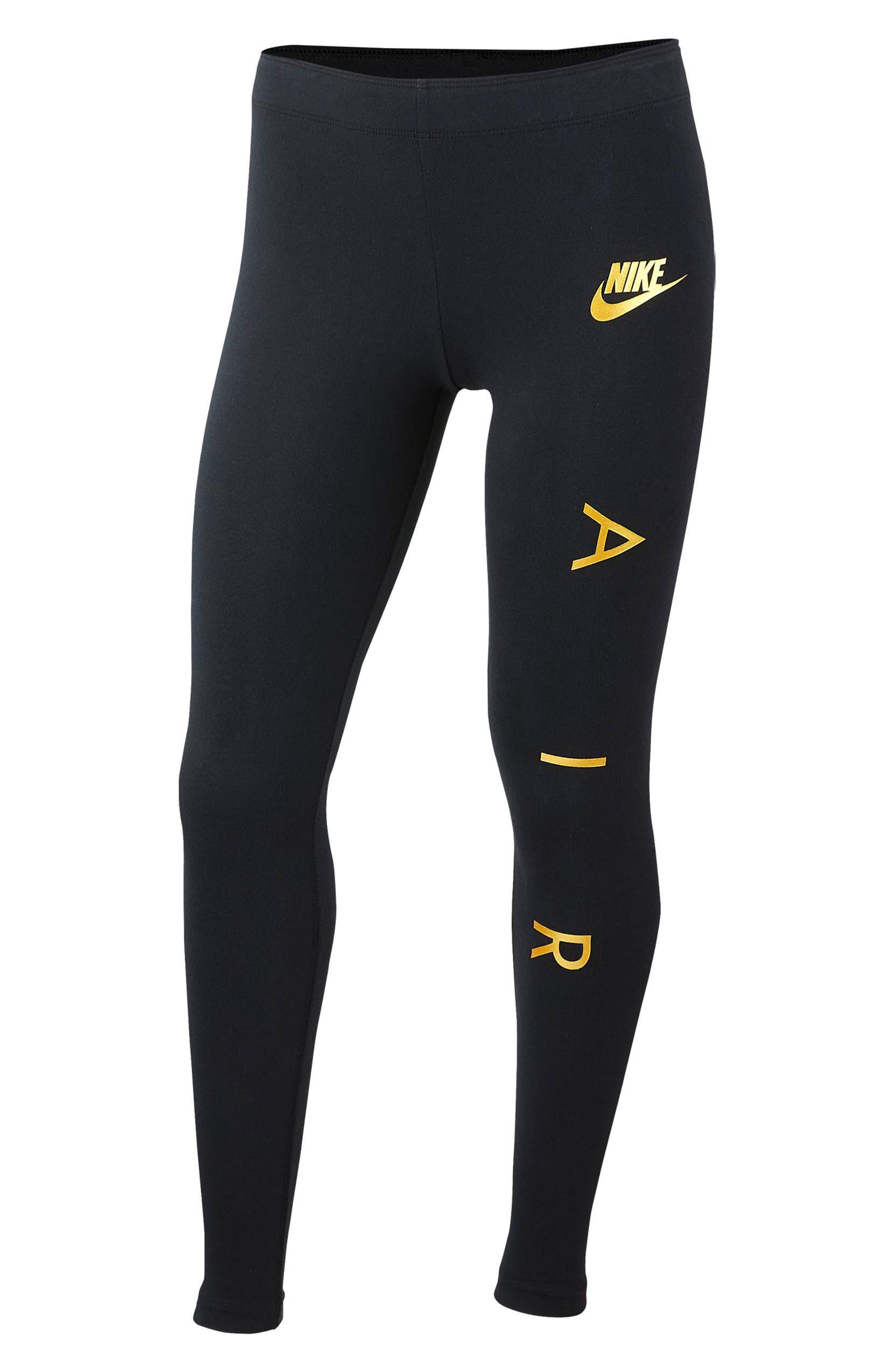 offer discounts well known sneakers Nike Air Logo Favorite Leggings (Big Girls) | Nordstrom