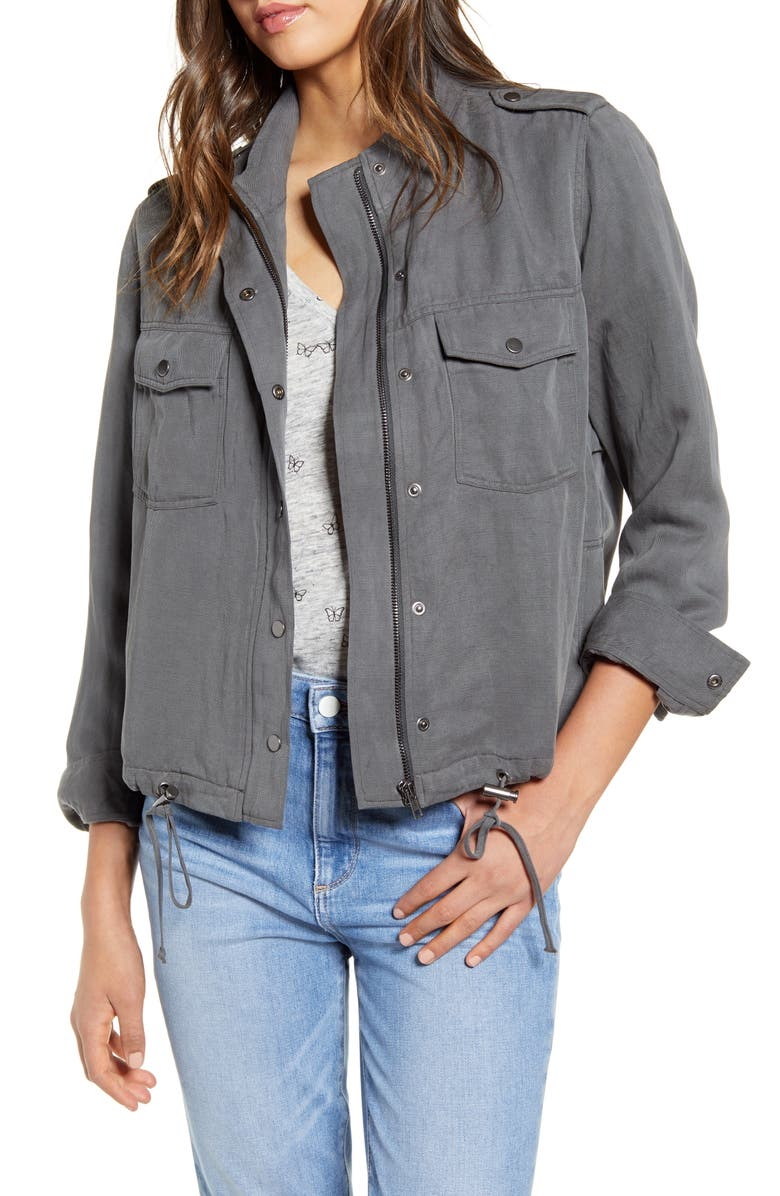 RAILS Collins Military Jacket, Main, color, 020