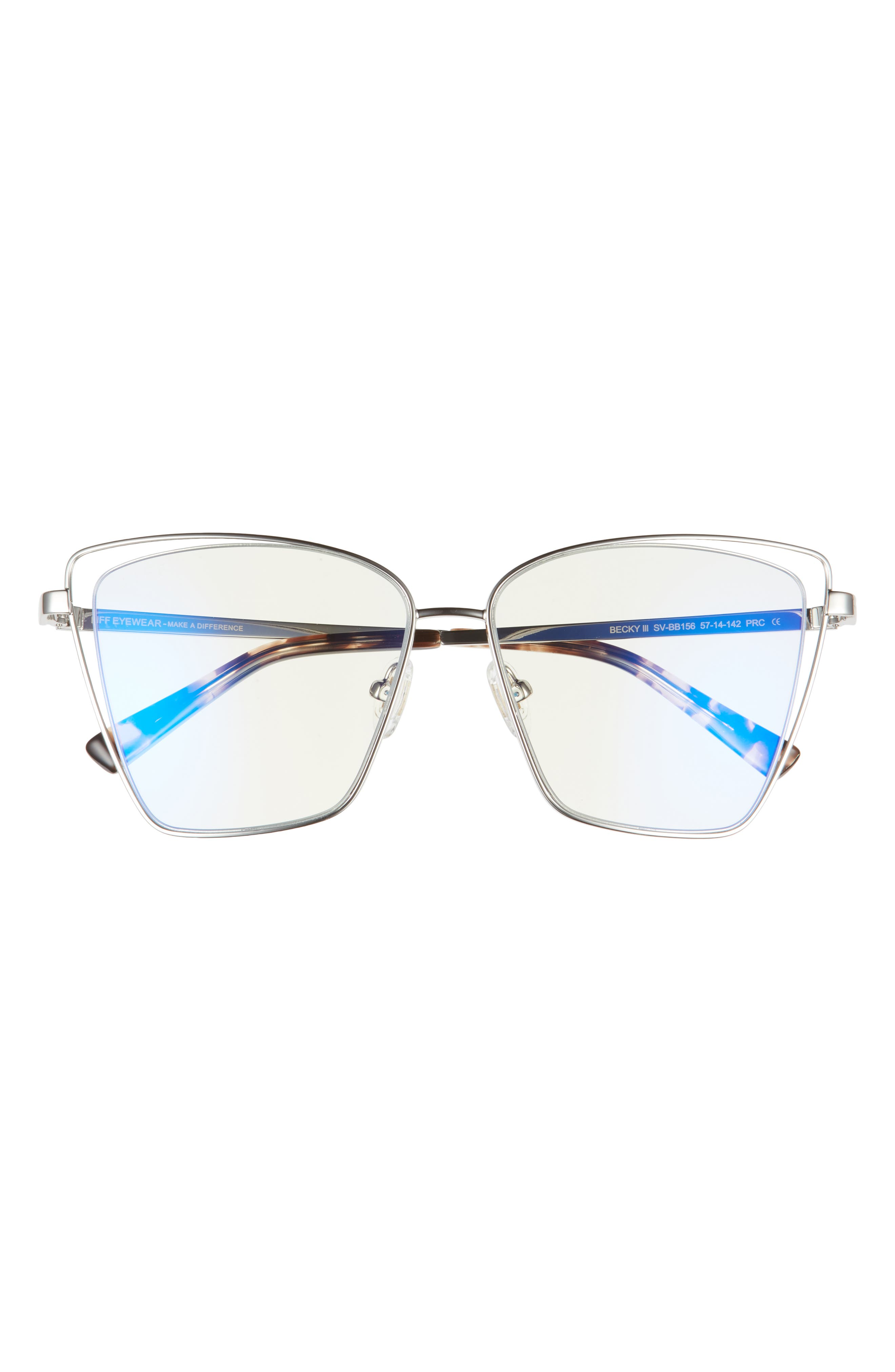 Bella 54mm Square Polarized Sunglasses