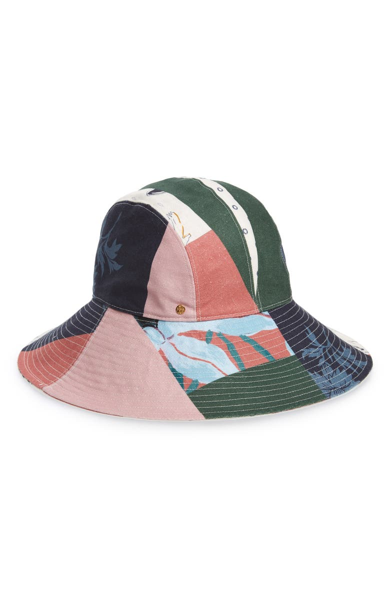 876eaa722 Floral Patchwork Sun Hat