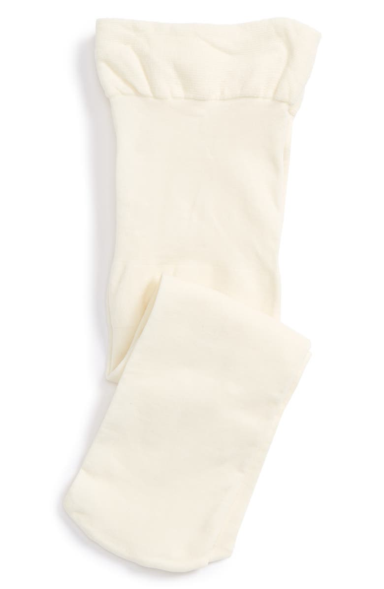 TUCKER + TATE So Fine Microfiber Tights, Main, color, CREAM VANILLA