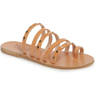 Ancient Greek Sandals Niki Nails Sandal, Beige