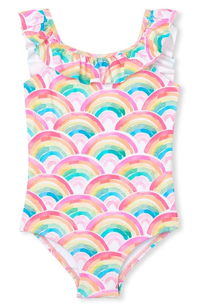 Hatley KIDS' OVER THE RAINBOW ONE-PIECE SWIMSUIT