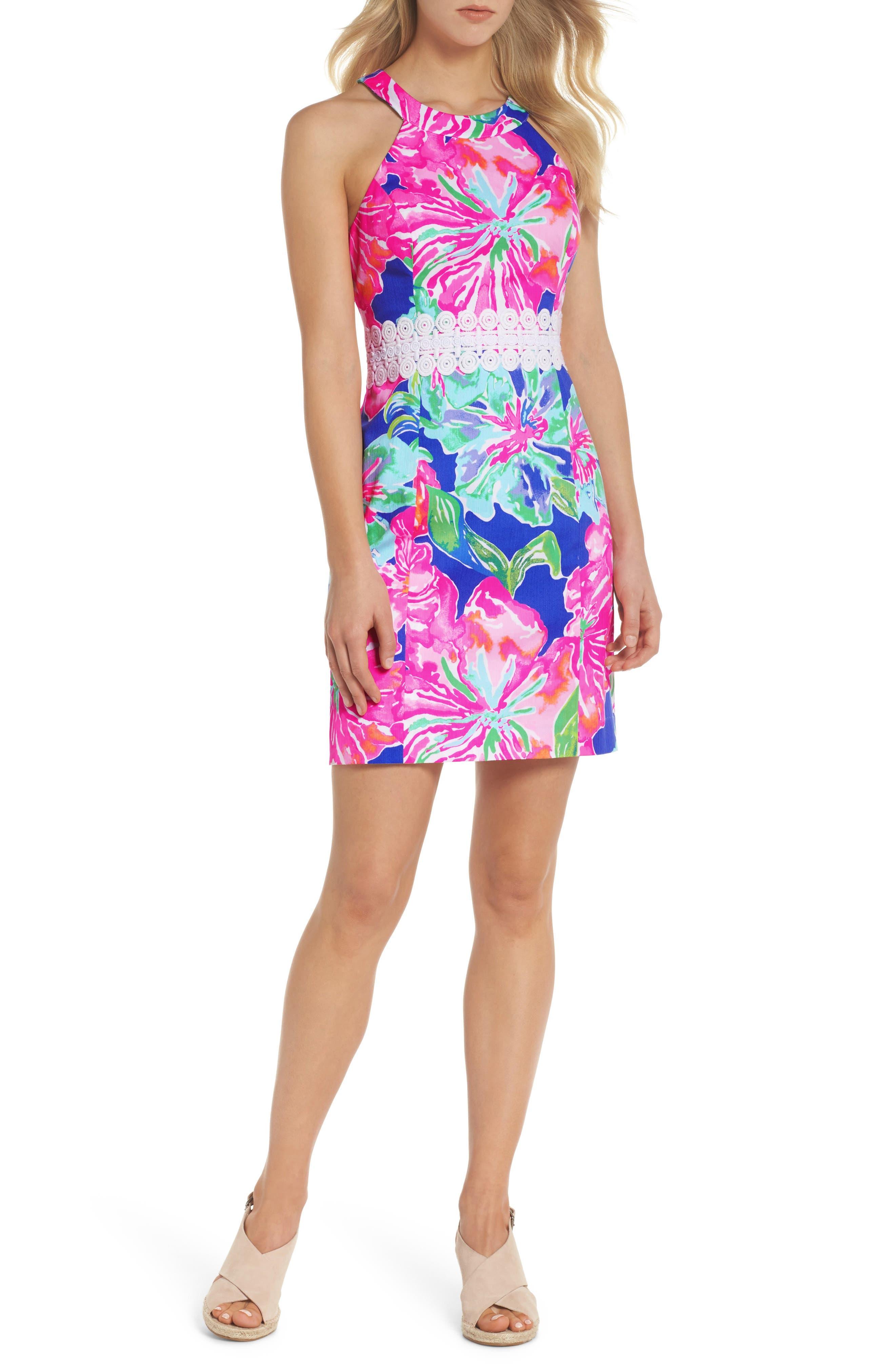 Lilly Pulitzer Ashlyn Sheath Dress, Purple