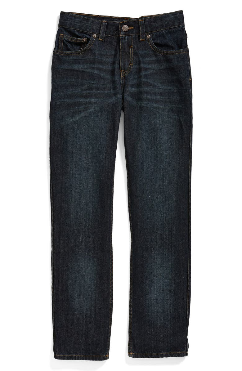 TUCKER + TATE 'Townsend' Straight Leg Jeans, Main, color, 400