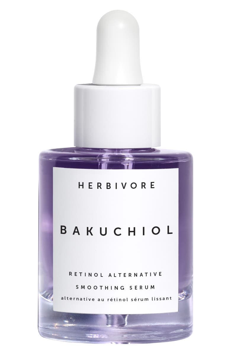HERBIVORE BOTANICALS Bakuchiol Retinol Alternative Serum, Main, color, NO COLOR