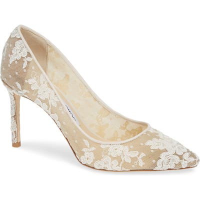 Jimmy Choo Romy Lace Pump