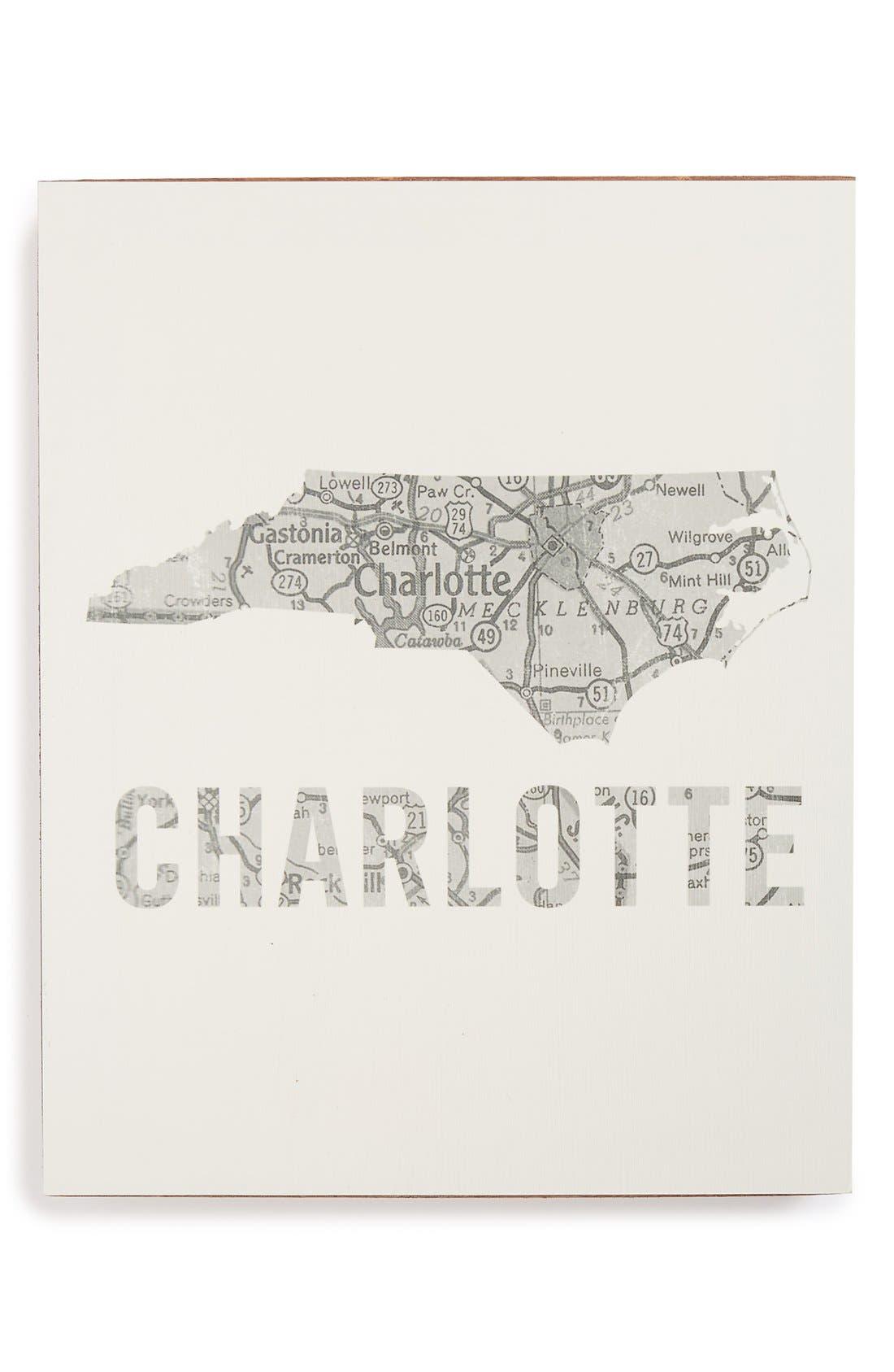 ,                             City Map Wall Art,                             Main thumbnail 8, color,                             027