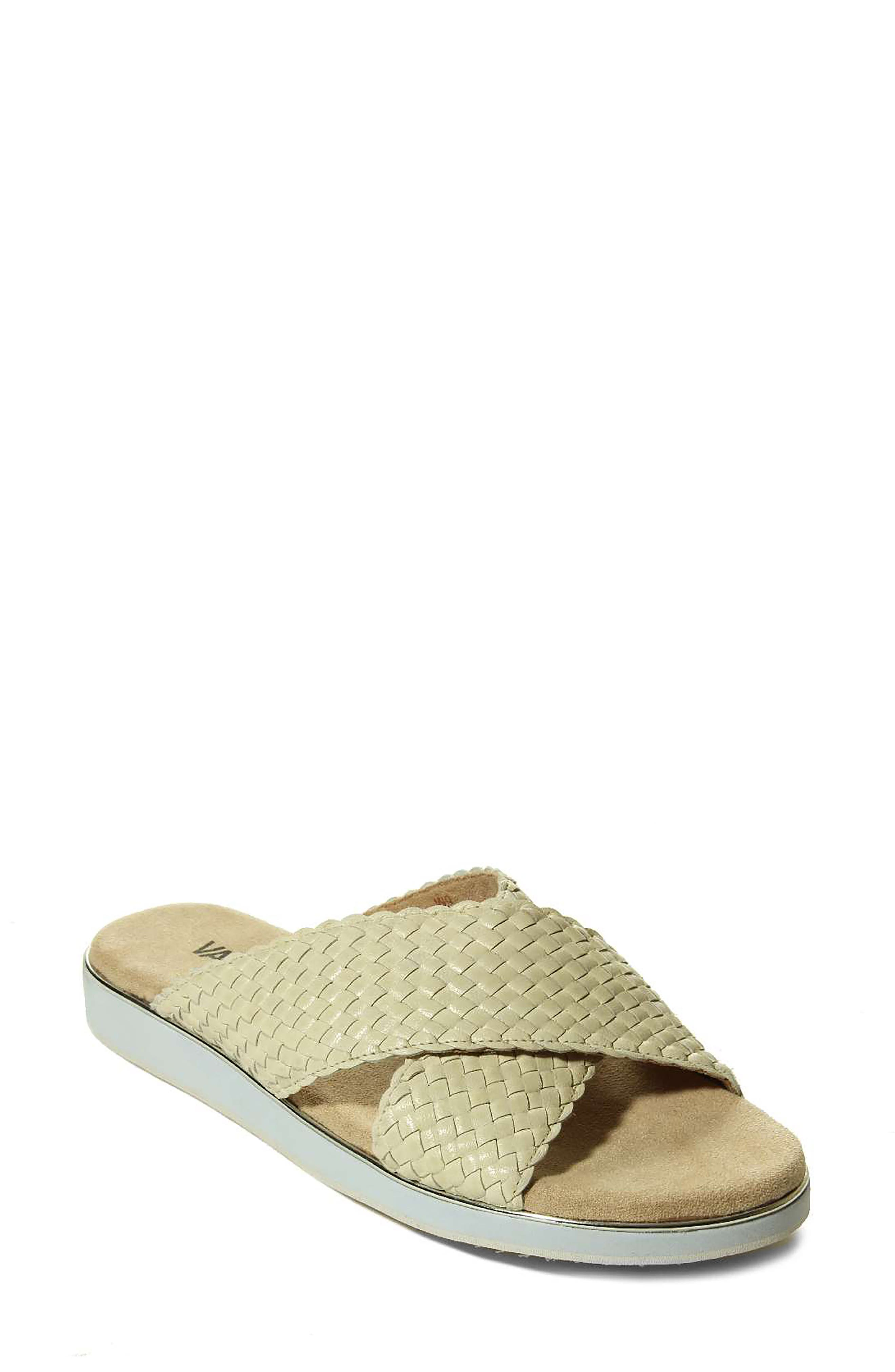 A foam-cushioned insole cradles and supports your foot in this basketweave slide. Style Name: Vaneli Edyta Slide Sandal (Women). Style Number: 6055902. Available in stores.