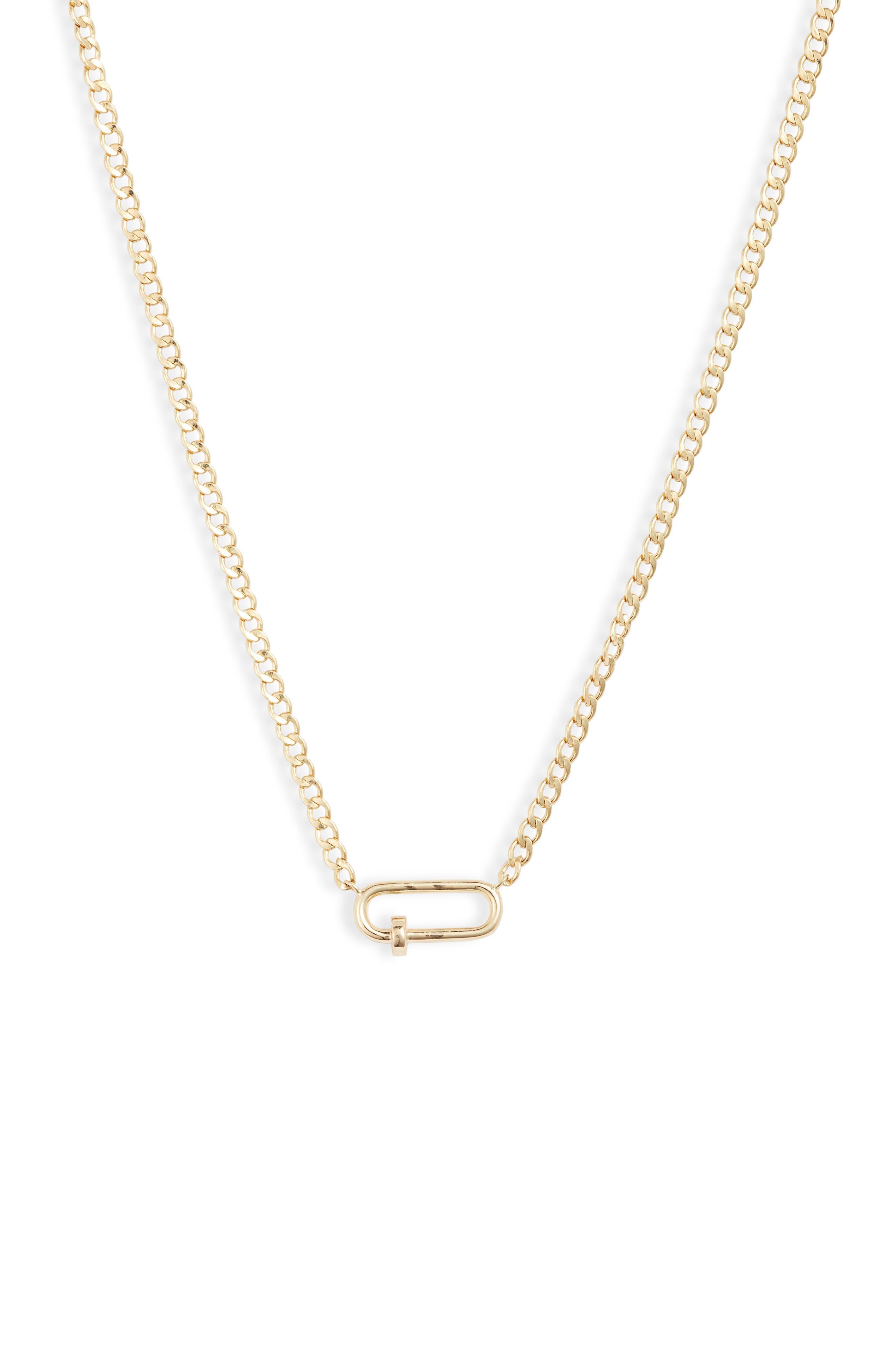 Link Pendant Necklace