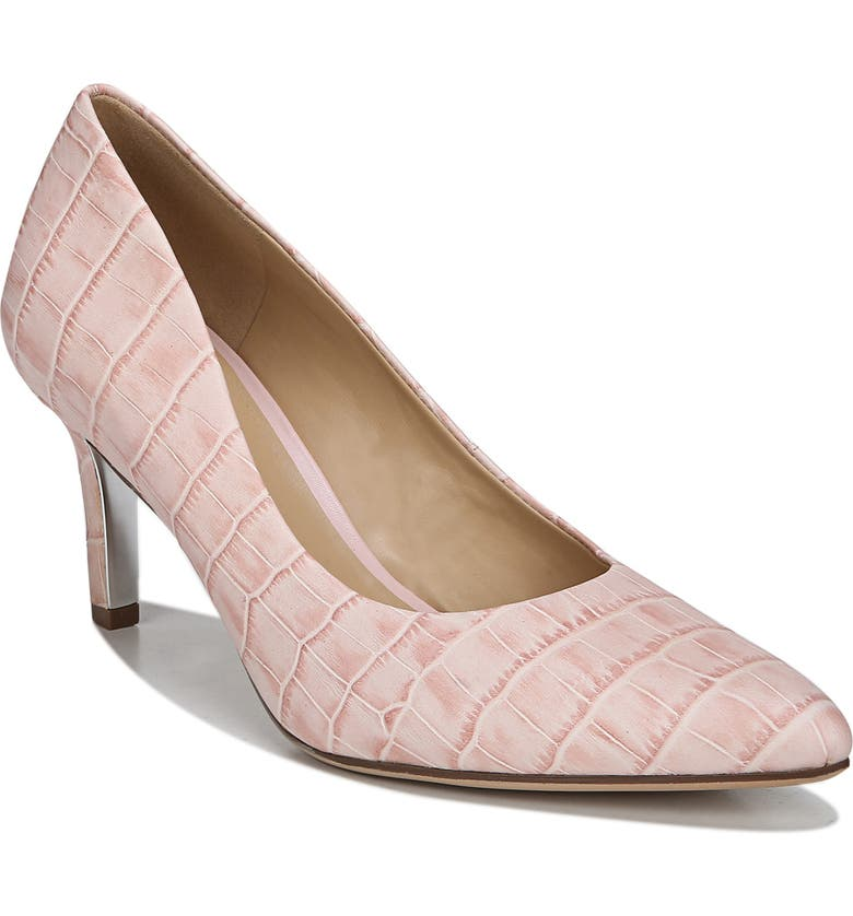 NATURALIZER Natalie Pump, Main, color, PINK CROC LEATHER