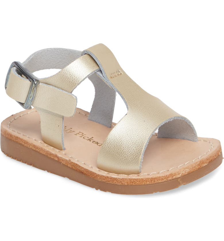 FRESHLY PICKED Sandal, Main, color, PLATINUM