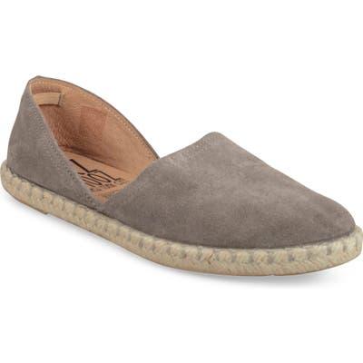 Miz Moos Celestine Espadrille Flat Grey