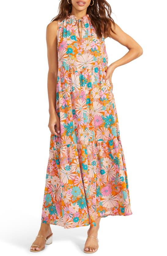 Bb Dakota Dresses CALIFORNIA SOUL PRINT HALTER DRESS