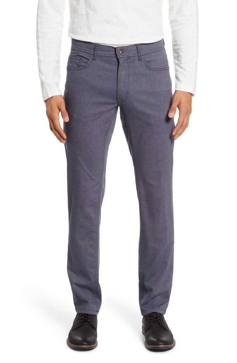 BRAX Cooper Fancy Straight Leg Pants, Main, color, MEDIUM BLUE