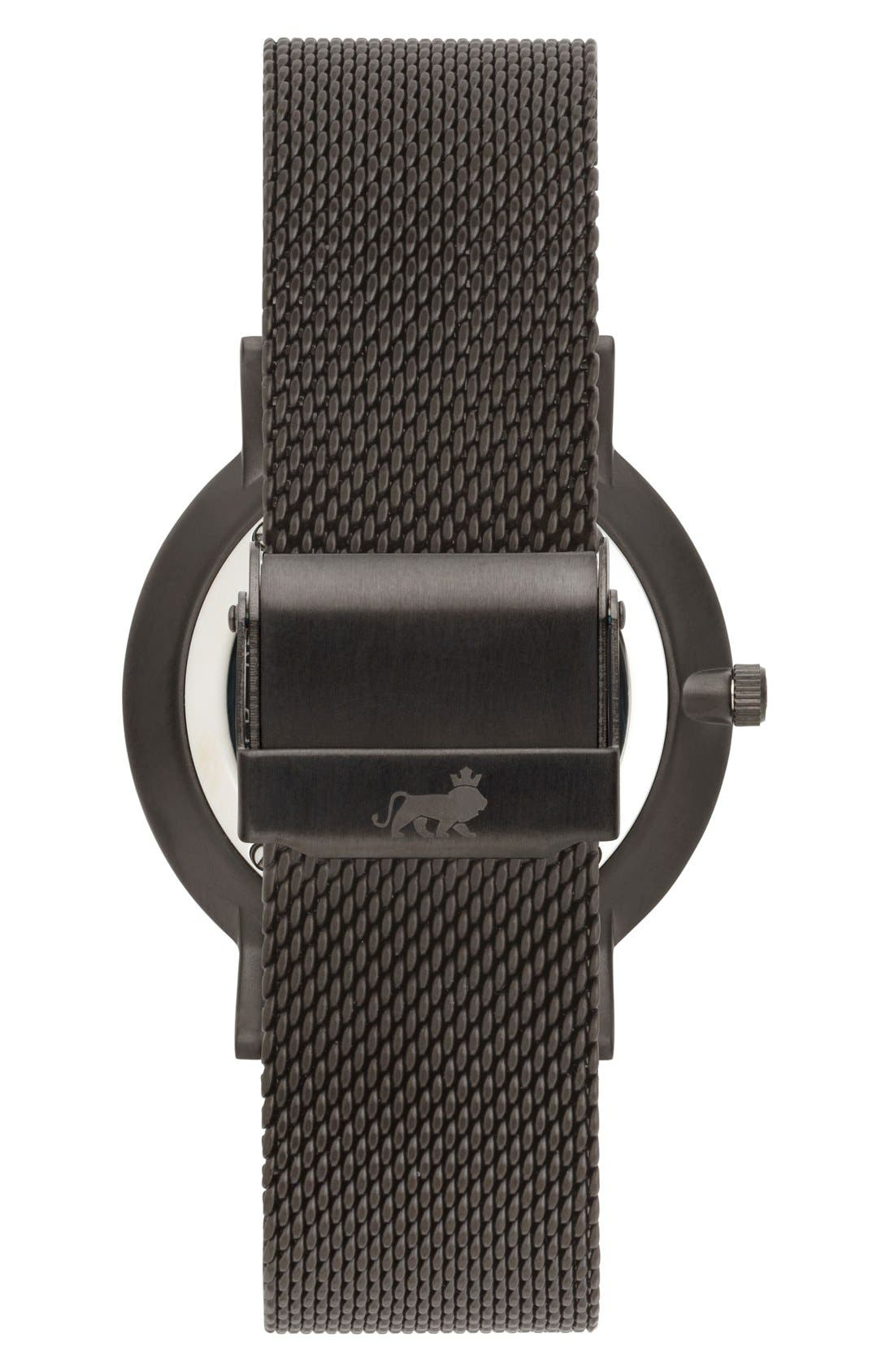 ,                             Lugano Mesh Strap Watch, 40mm,                             Alternate thumbnail 12, color,                             020