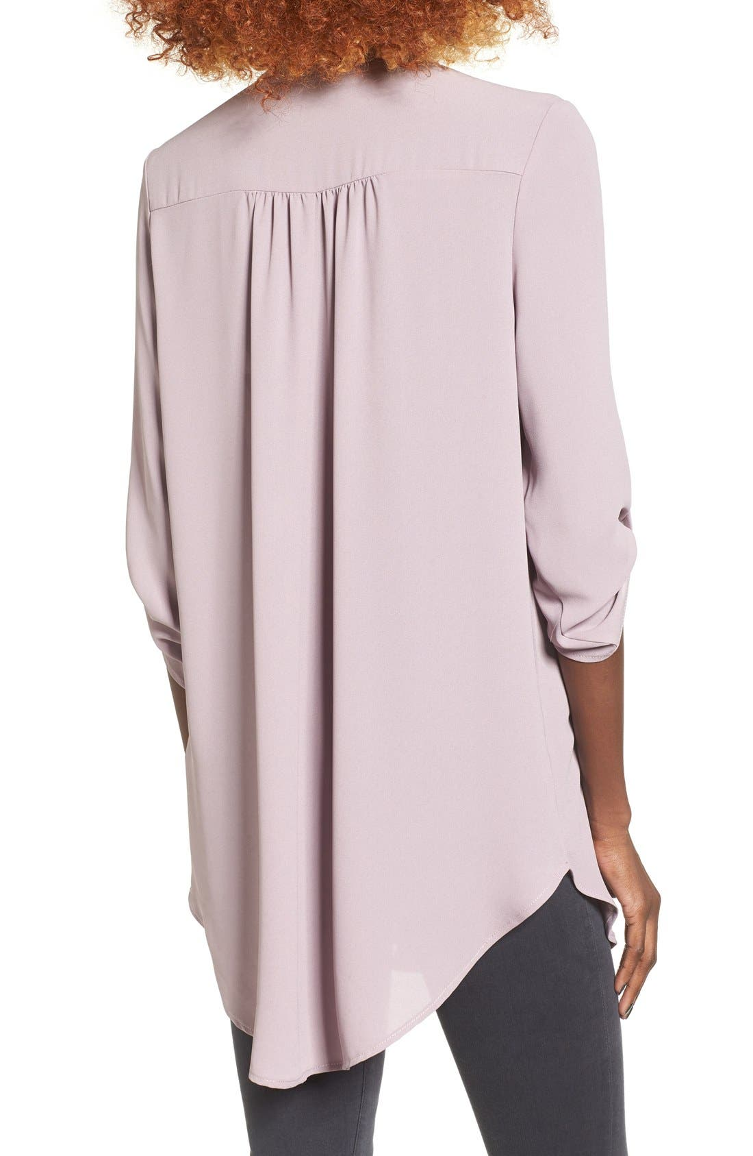 ,                             Perfect Roll Tab Sleeve Tunic,                             Alternate thumbnail 230, color,                             251
