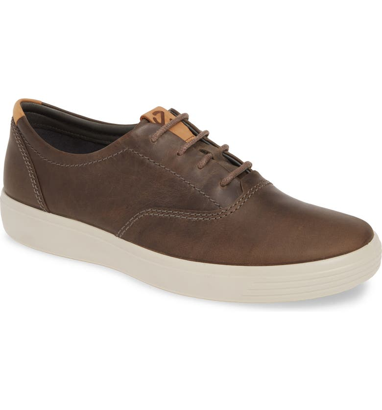 ECCO Fost 7 CVO Sneaker, Main, color, STONE LEATHER