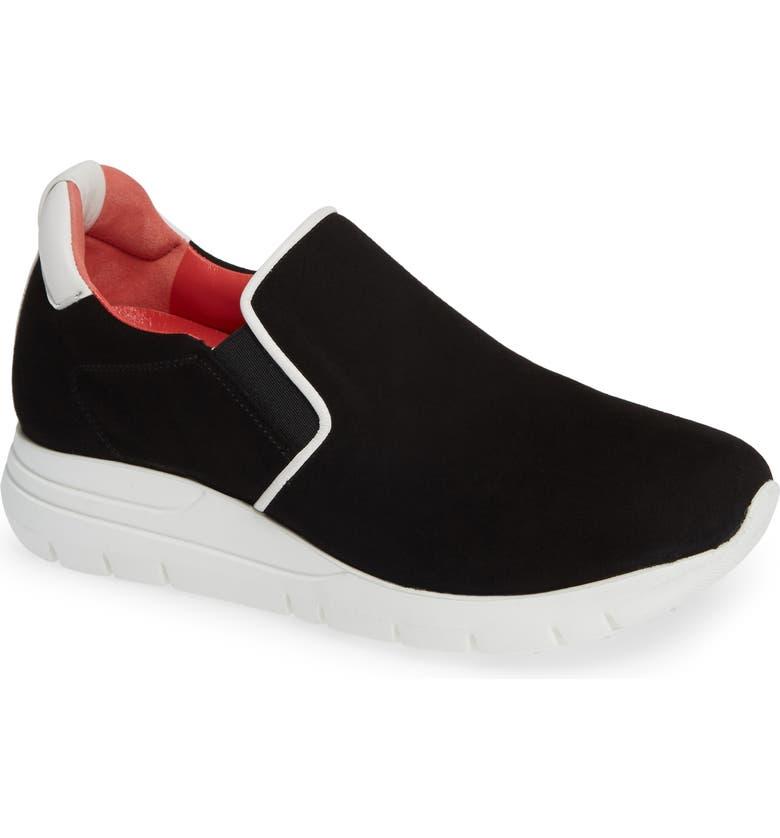 PAS DE ROUGE Dixie Slip-On Sneaker, Main, color, 001
