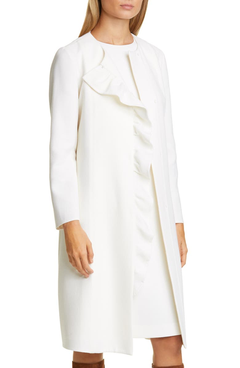 LAFAYETTE 148 NEW YORK Margo Wool Jacket, Main, color, 100