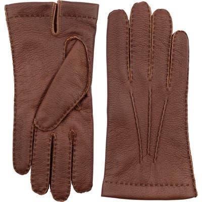 Hestra Elk Leather Gloves, Brown