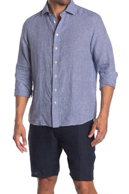 Image of Toscano Long Sleeve Mini Check Sport Shirt
