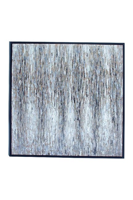 Image of Willow Row Multi Contemporary Square Abstract Canvas
