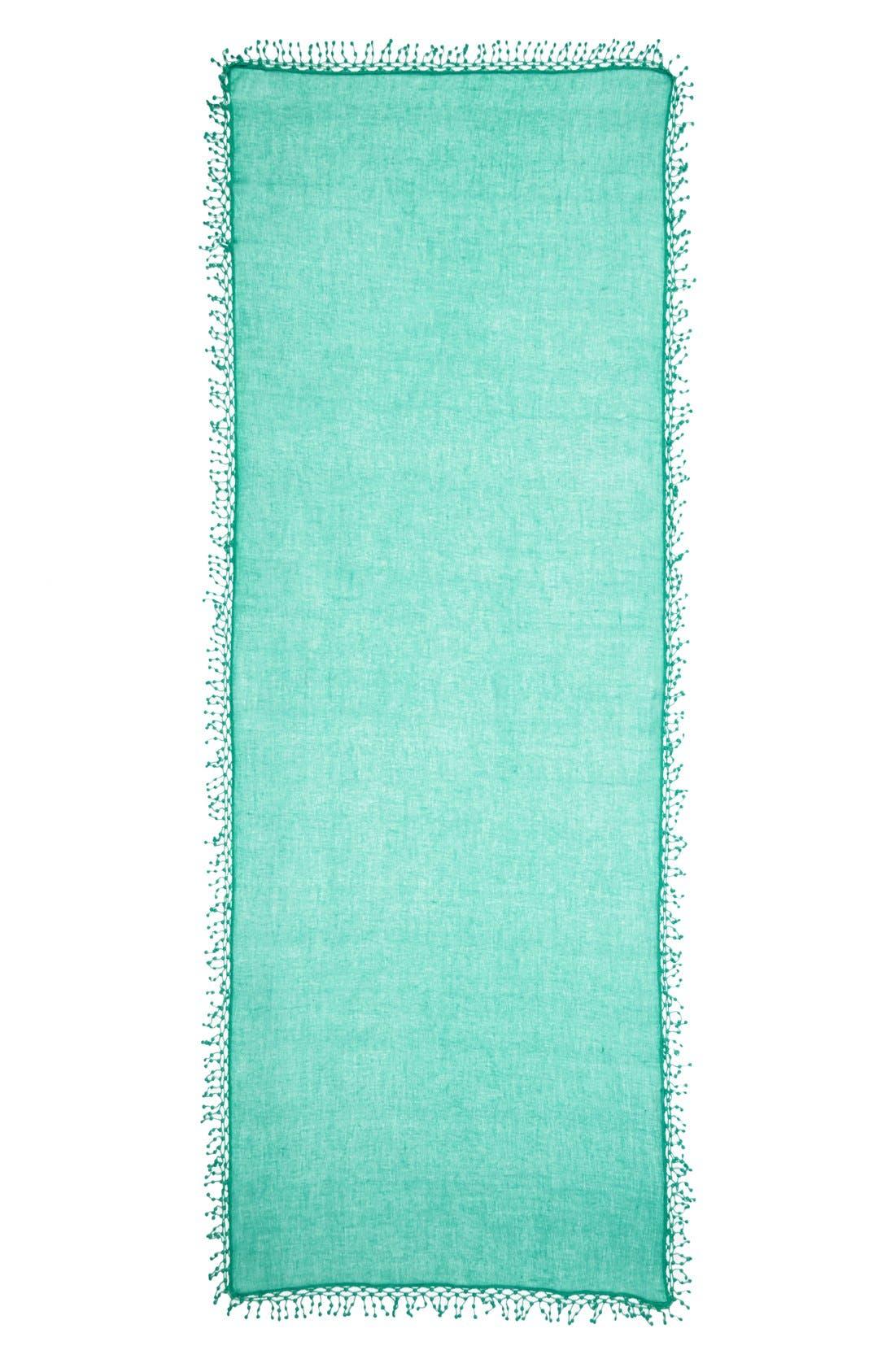 ,                             'Pompom' Cashmere Wrap,                             Alternate thumbnail 17, color,                             440