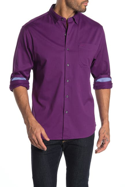 Image of Tommy Bahama Oasis Twill Original Fit Long Sleeve Shirt
